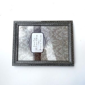 NWT 5x7 glitter picture frame